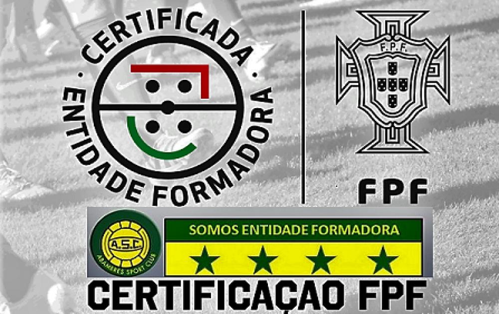 SOMOS ENTIDADE FORMADORA CERTIFICADA PELA FPF COM 4 ESTRELAS ⭐️⭐️⭐️⭐️ | ORGULHO SER ASC