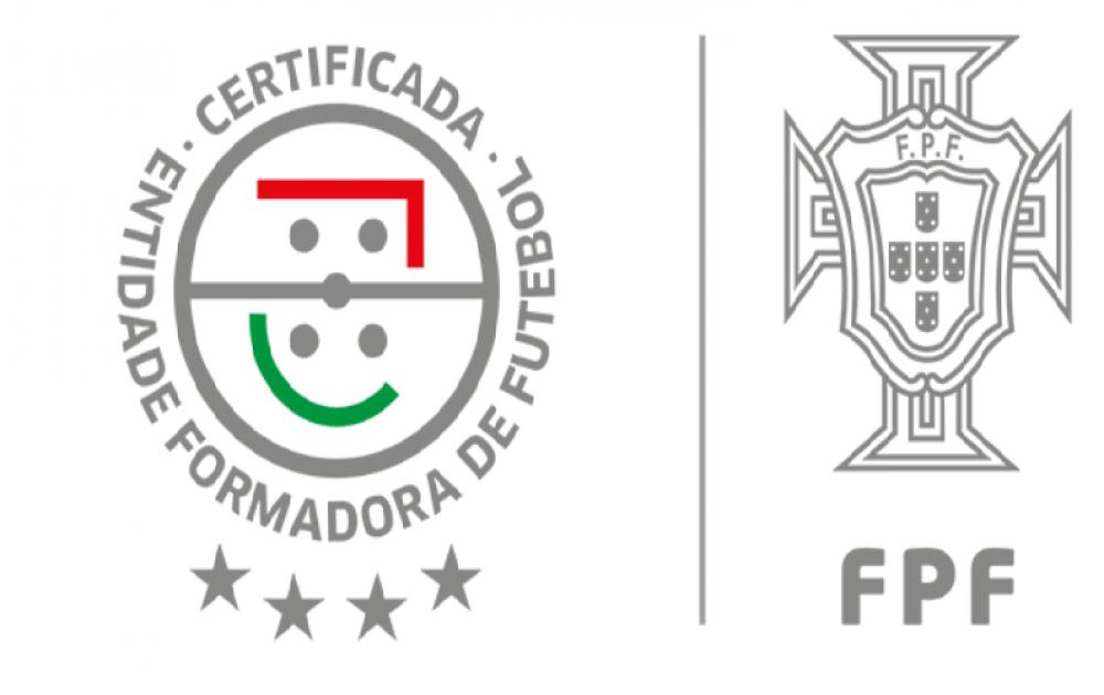 CONTINUAMOS A SER ENTIDADE FORMADORA CERTIFICADA PELA FPF 4 ESTRELAS